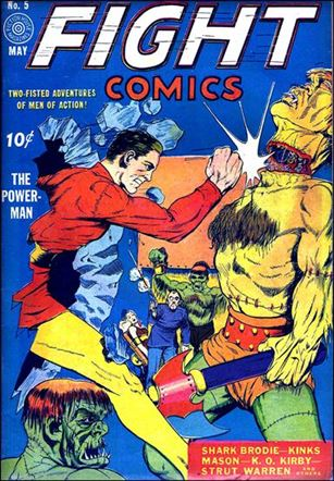 Fight Comics 5-A
