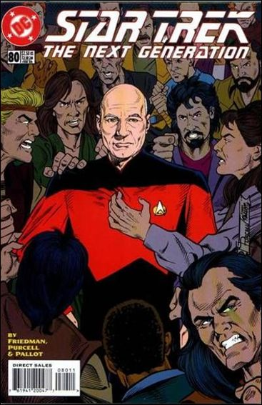Star Trek: The Next Generation (1989) 80-A by DC