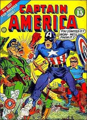 Captain America Comics (1941) 13-A
