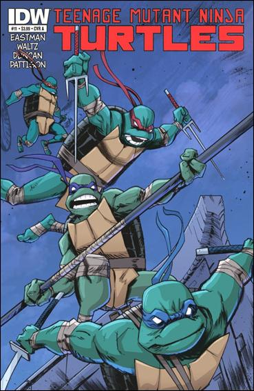 Teenage Mutant Ninja Turtles (2011) 11-A by IDW