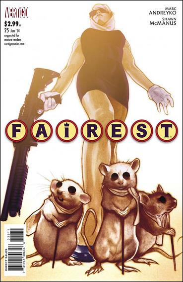 Fairest 25-A by Vertigo