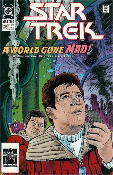 Star Trek (1989) 20-A by DC