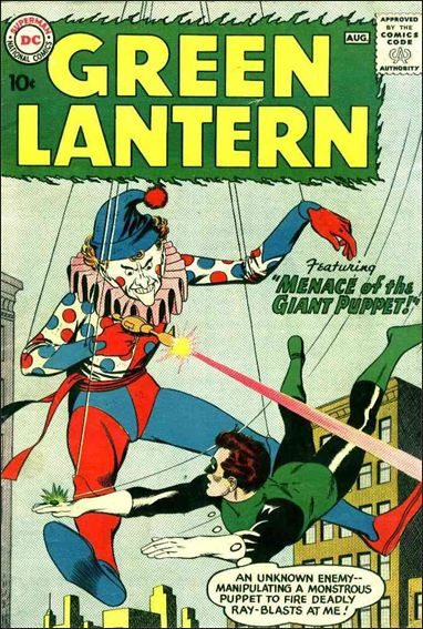 Green Lantern (1960) 1-A by DC