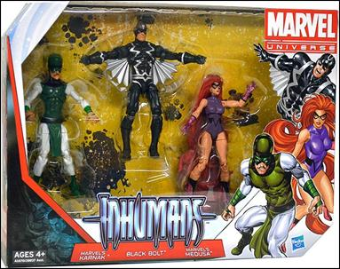 Marvel Universe (3-Packs) Inhumans 3-Pack by Hasbro