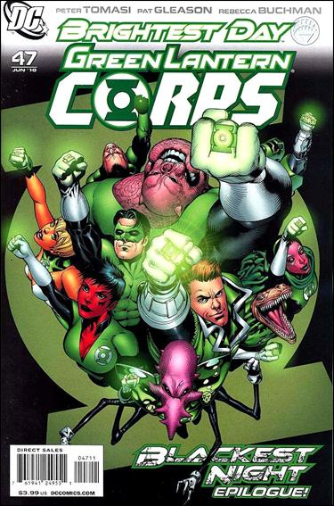 Green Lantern Corps (2006) 47-A by DC