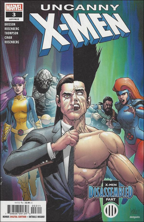 Uncanny X-Men (2019) 3-A by Marvel