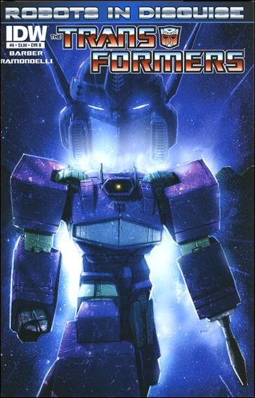 Transformers: Robots in Disguise 6-B by IDW