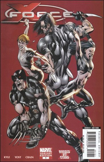 X-Force (2008) 1-C by Marvel