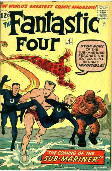 Fantastic Four (1961) 4-A by Marvel