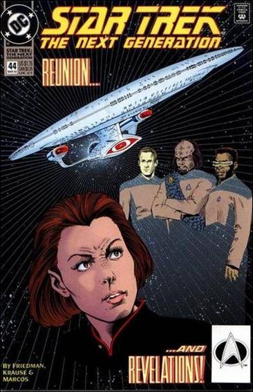 Star Trek: The Next Generation (1989) 44-A by DC