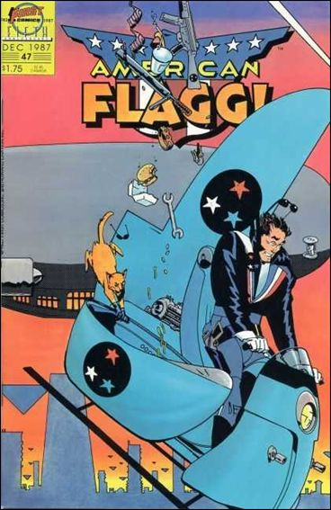 American Flagg! (1983) 47-A by First