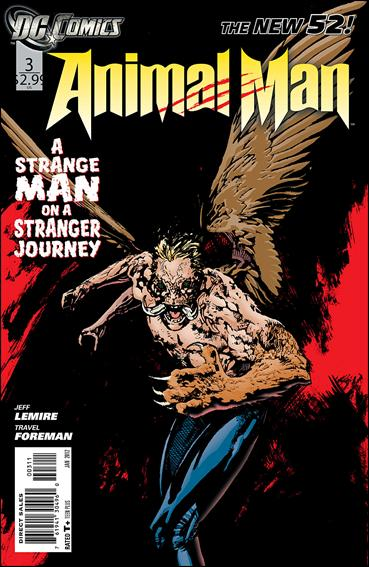 Animal Man (2011) 3-A by DC