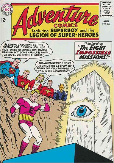 Adventure Comics (1938) 323-A by DC