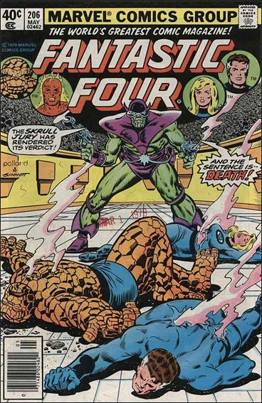 Fantastic Four (1961) 206-A by Marvel