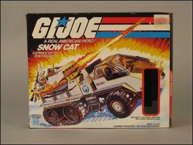 "G.I. Joe: A Real American Hero 3 3/4"" Basic Vehicles and Playsets Snow Cat by Hasbro"