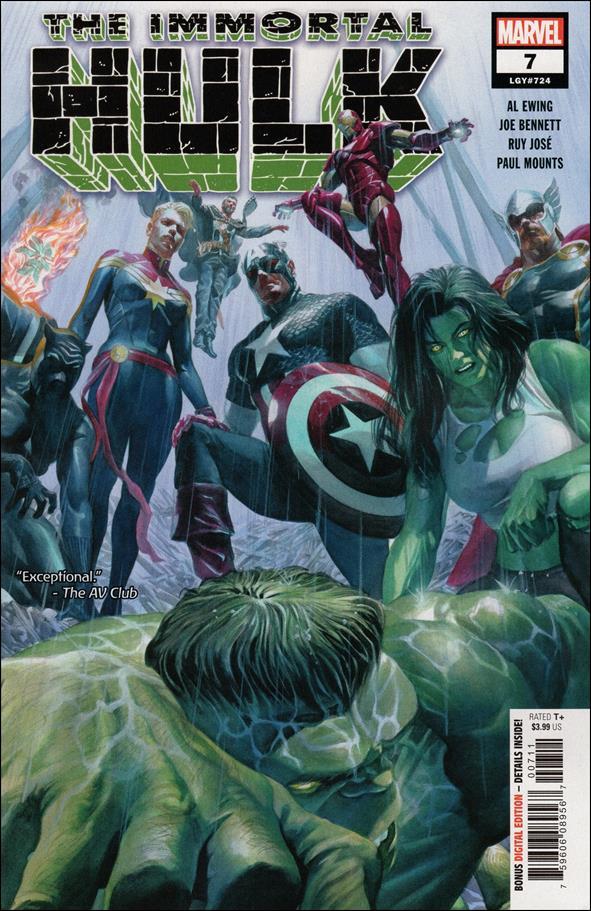Immortal Hulk 7-A by Marvel
