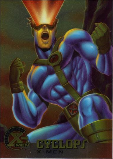 1995 Fleer Ultra X-Men All Chromium (Base Set) 5-A by Fleer