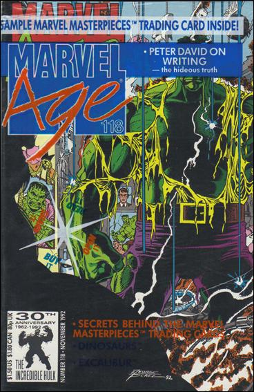 Marvel Age 118-B by Marvel