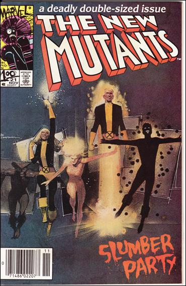 New Mutants (1983) 21-B by Marvel