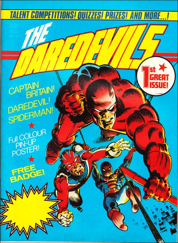 Daredevils (UK) 1-A by Marvel UK