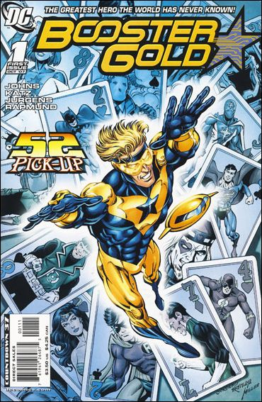 Booster Gold (2007) 1-A by DC
