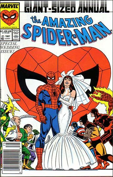 Amazing Spider-Man Annual 21-B by Marvel