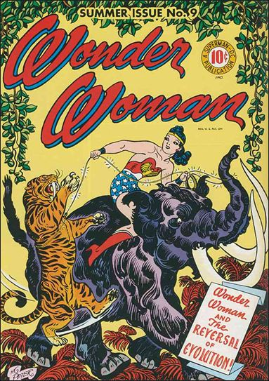 Wonder Woman (1942) 9-A by DC
