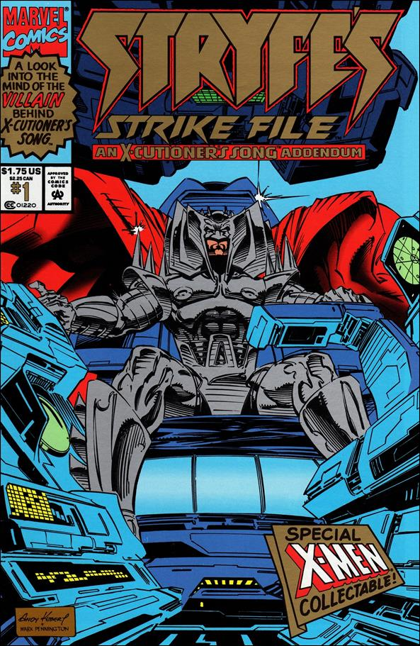 Stryfe's Strike File 1-B by Marvel