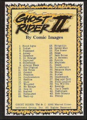 Ghost Rider II (Base Set)  80-A by Comic Images