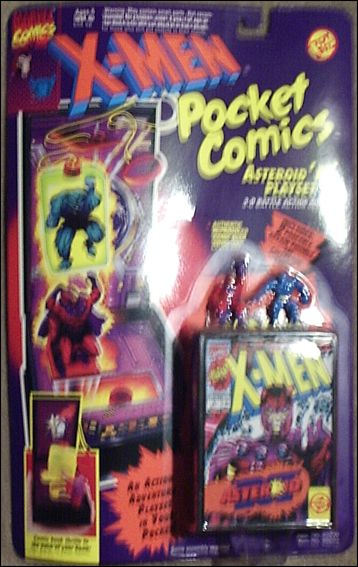X-Men Pocket Comics Playsets Astroid 'M' Playset by Toy Biz