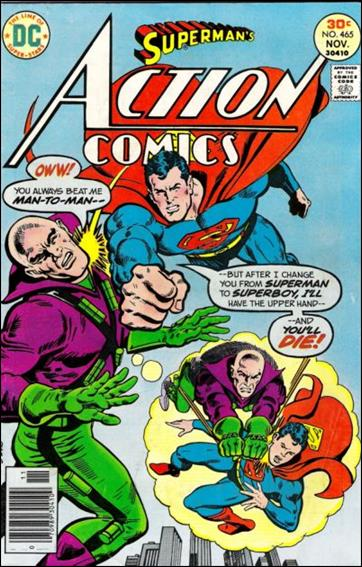 Action Comics (1938) 465-A by DC