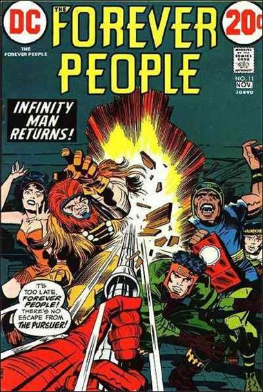 Forever People (1971) 11-A by DC
