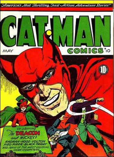 Catman Comics 10-A by Holyoke