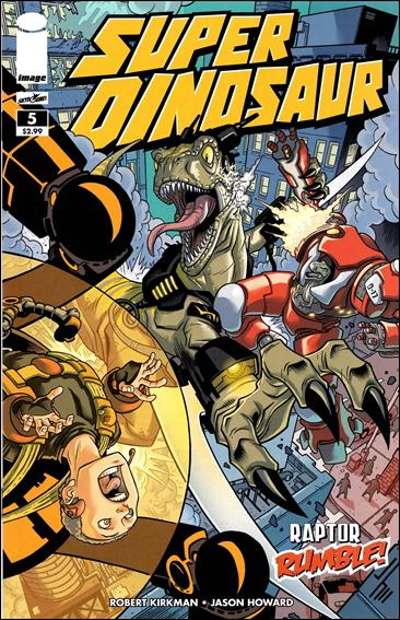 Super Dinosaur 5-A by Skybound Entertainment
