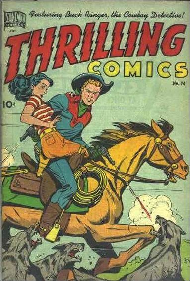 Thrilling Comics (1940) 74-A by Standard