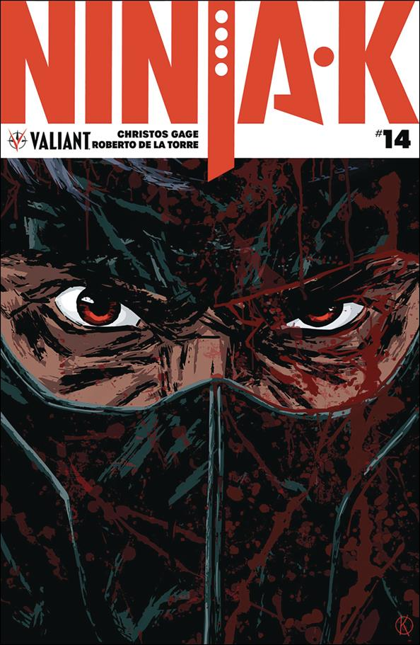 Ninja-K 14-A by Valiant Entertainment