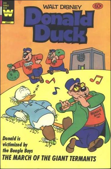 Walt Disney's Donald Duck (1952) 243-A by Gold Key