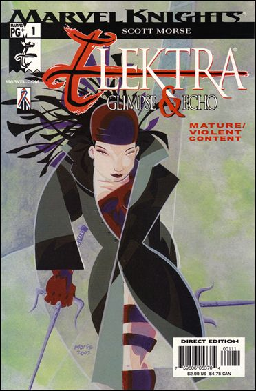 Elektra: Glimpse & Echo 1-A by Marvel