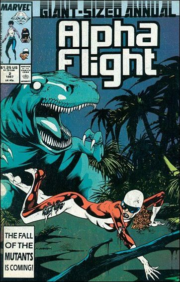 Alpha Flight Annual 2-A by Marvel