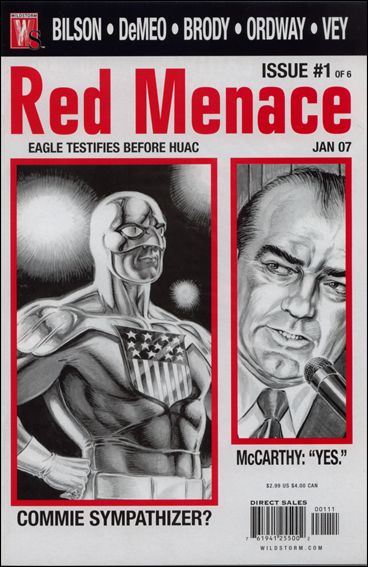 Red Menace 1-A by WildStorm