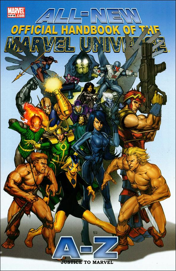All-New Official Handbook of the Marvel Universe A to Z 6-A by Marvel