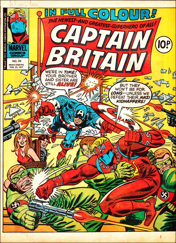 Captain Britain (UK) (1976) 20-A by Marvel UK