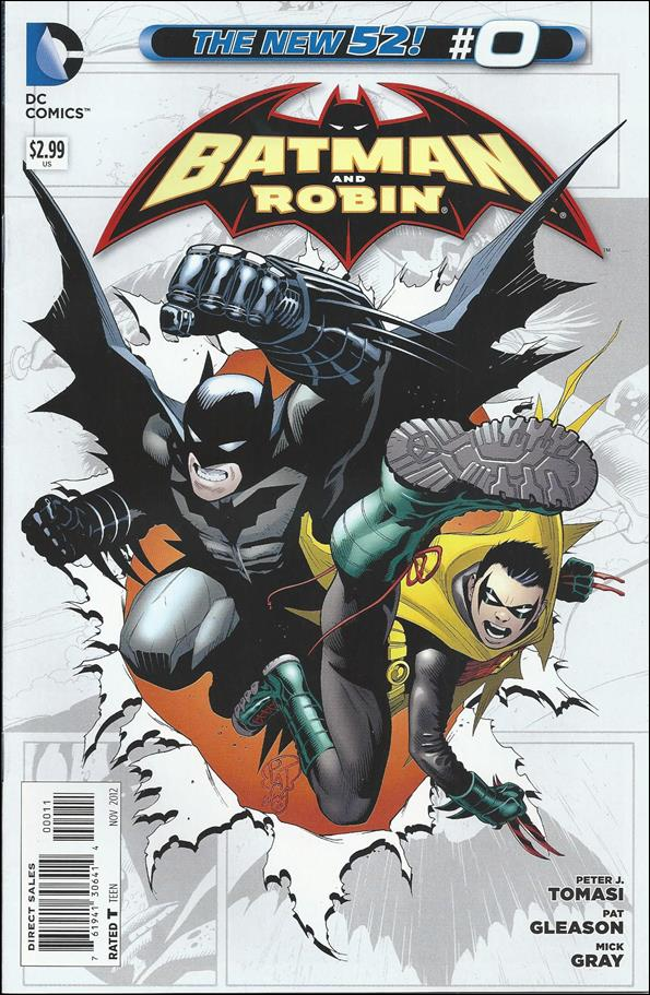 Batman and Robin (2011) 0-A by DC