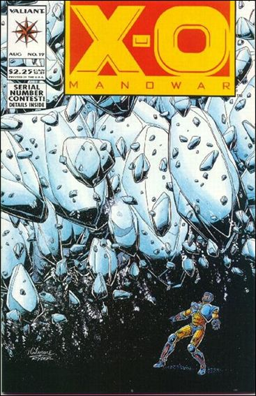 X-O Manowar (1992) 19-A by Valiant