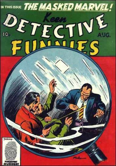 Keen Detective Funnies (1939) 8-A by Centaur Publications Inc.