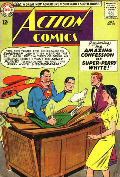 Action Comics (1938) 302-A by DC