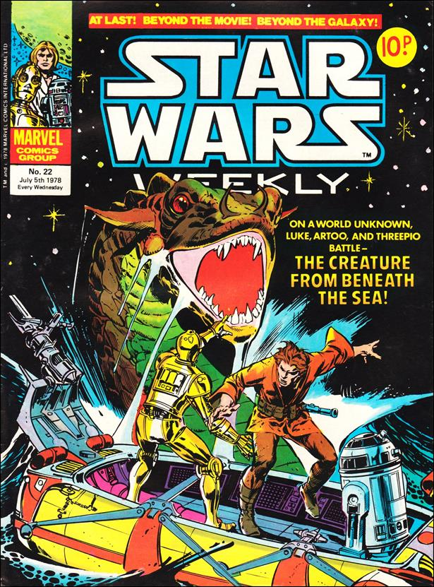 Star Wars Weekly (UK) 22-A by Marvel UK