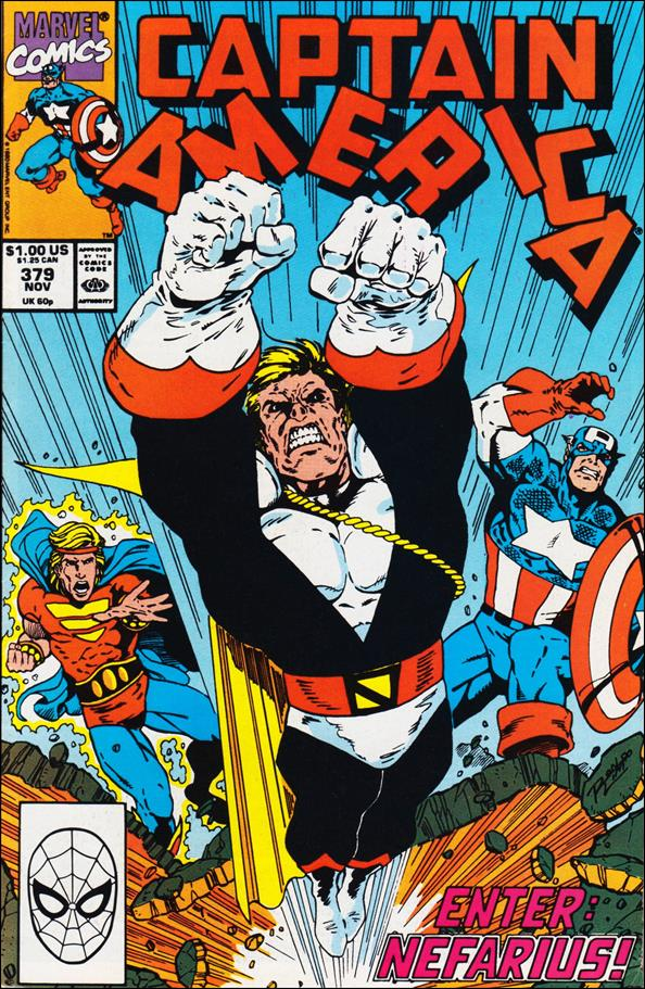 Captain America (1968) 379-A by Marvel