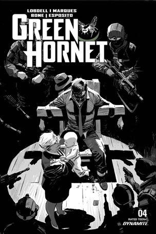 Green Hornet (2020) 4-E