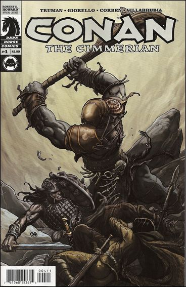 Conan the Cimmerian 4-A by Dark Horse